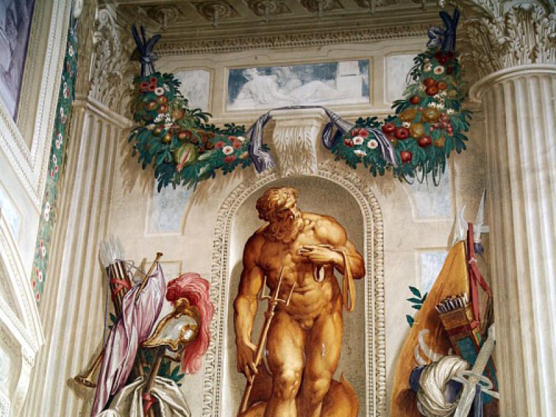 Affresco di Giovanni Battista Zelotti