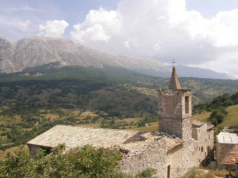 Roccaramanico - scorcio centro storico