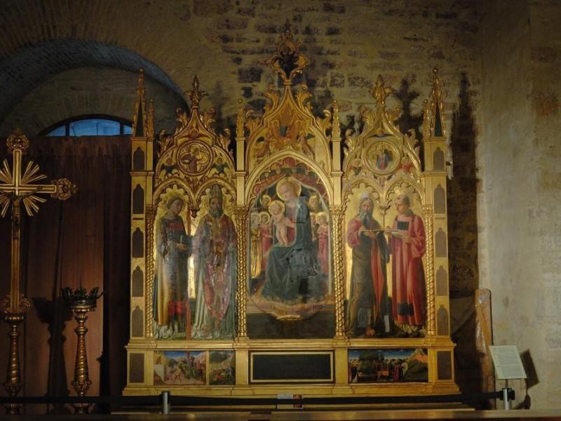 Niccolò di Liberatore detto Alunno. Polittico Fedeli, Marcello; jpg; 2126 pixels; 1417 pixels