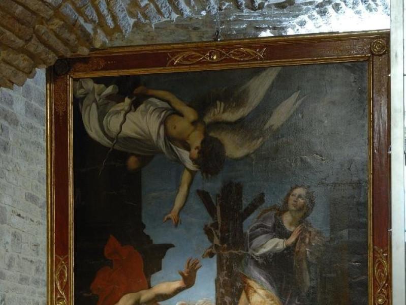 Orazio Riminaldi. Stendardo processionale del Fedeli, Marcello; jpg; 1417 pixels; 2126 pixels