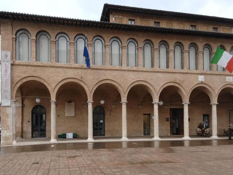 Museo Pericle Fazzini. Veduta esterna Fedeli, Marcello; jpg; 2126 pixels; 1417 pixels