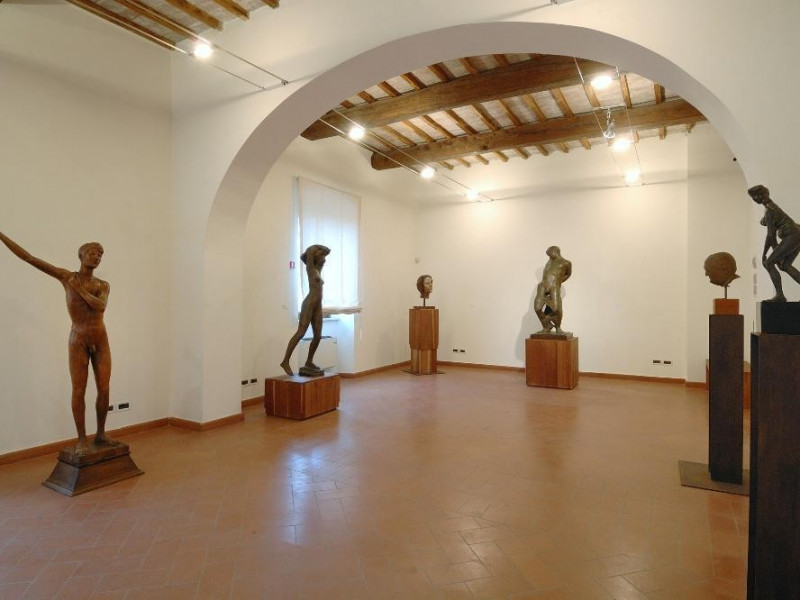 Museo Pericle Fazzini. Interno. Sala 1 Fedeli, Marcello; jpg; 2126 pixels; 1417 pixels