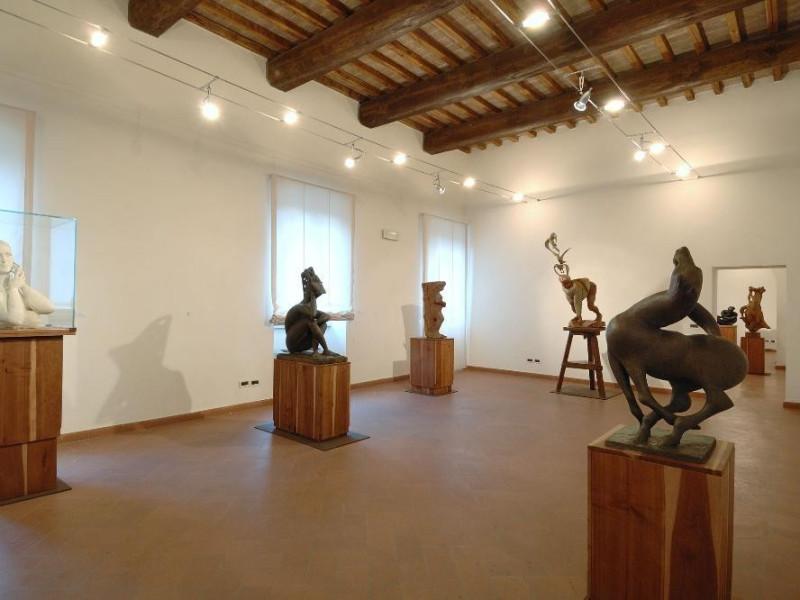 Museo Pericle Fazzini. Interno. Sala 2 Fedeli, Marcello; jpg; 2126 pixels; 1417 pixels