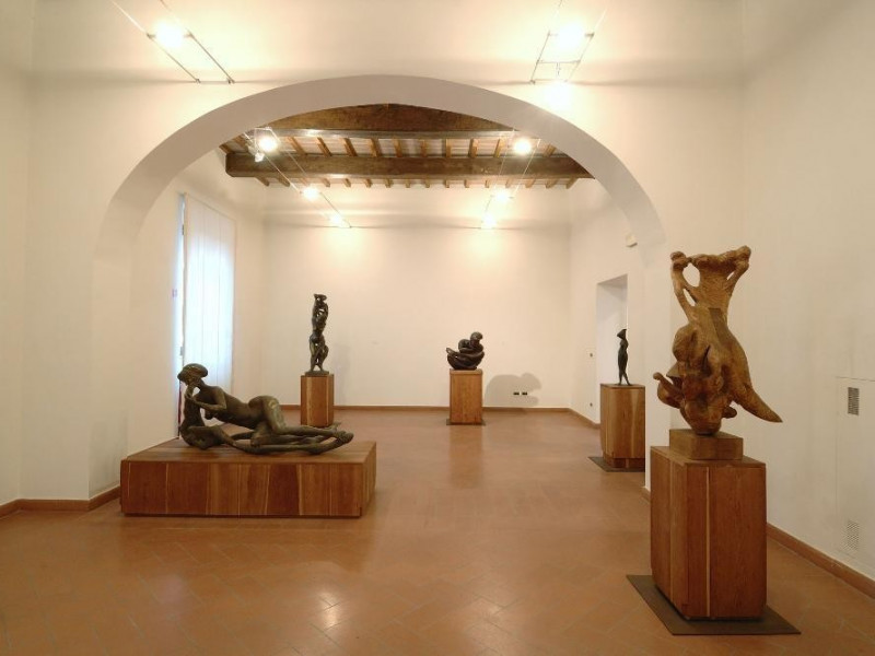 Museo Pericle Fazzini. Interno. Sala 3 Fedeli, Marcello; jpg; 2126 pixels; 1417 pixels