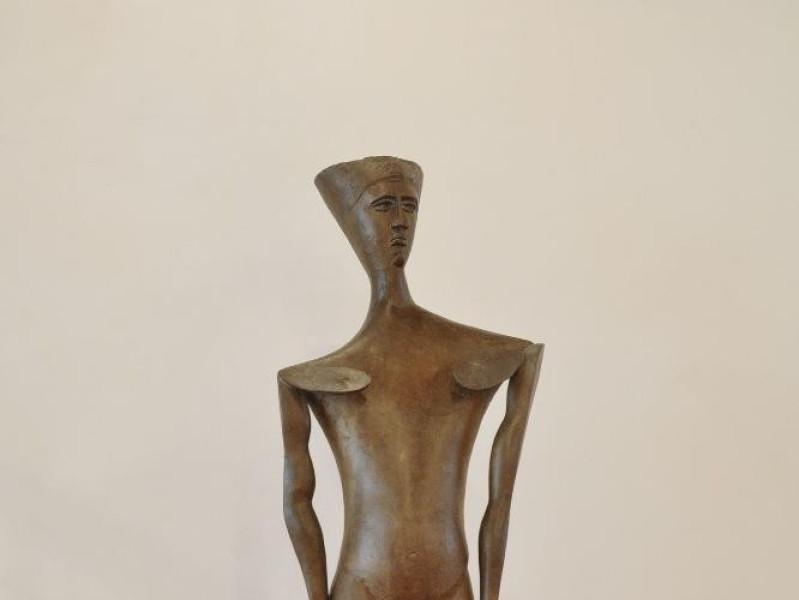 Pericle Fazzini. Scultura. Uomo (profeta). 19 Fedeli, Marcello; jpg; 1417 pixels; 2126 pixels