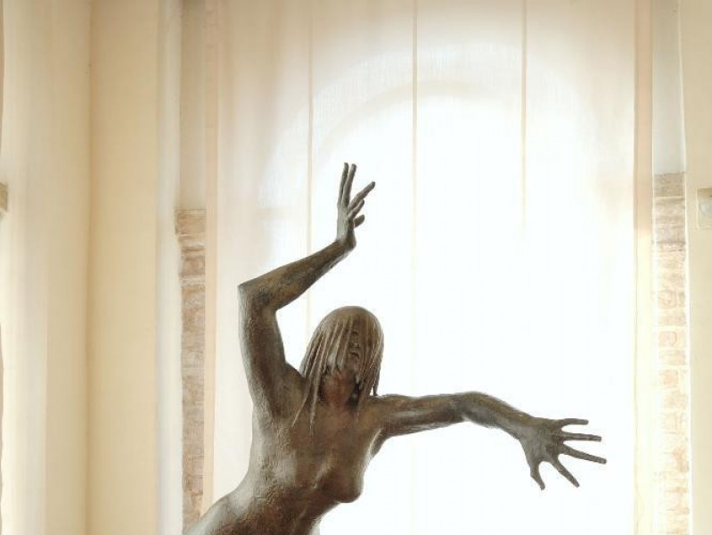 Pericle Fazzini. Scultura. Donna nella tempes Fedeli, Marcello; jpg; 1417 pixels; 2126 pixels