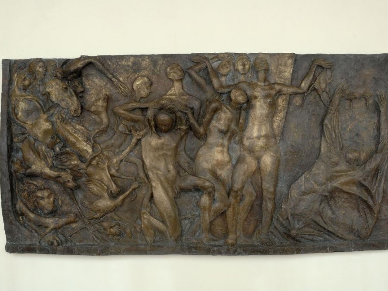 Pericle Fazzini. Scultura. Uscita dall'arca.  Fedeli, Marcello; jpg; 2126 pixels; 1417 pixels