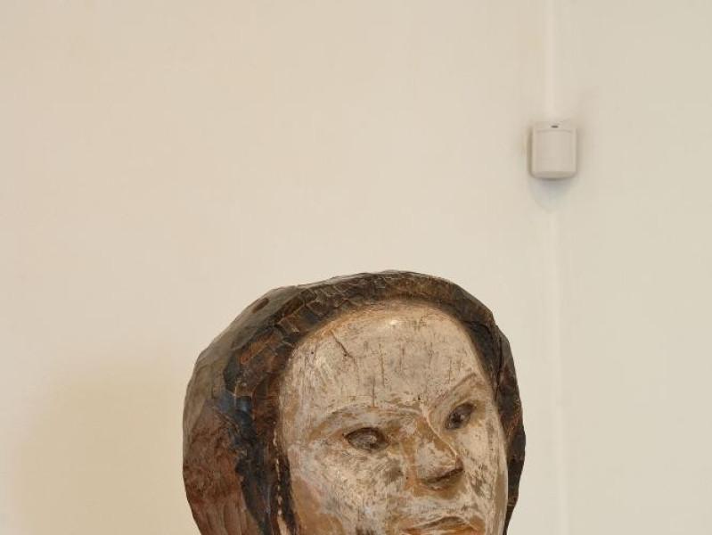 Pericle Fazzini. Scultura. Ritratto di Anita. Fedeli, Marcello; jpg; 1417 pixels; 2126 pixels