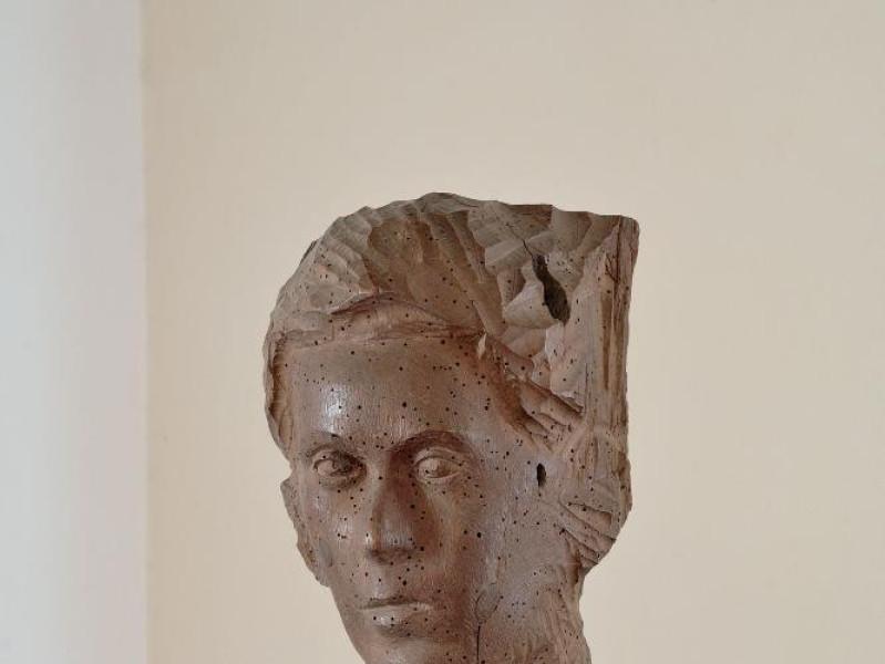 Pericle Fazzini. Scultura. Ritratto di Renato Fedeli, Marcello; jpg; 1417 pixels; 2126 pixels