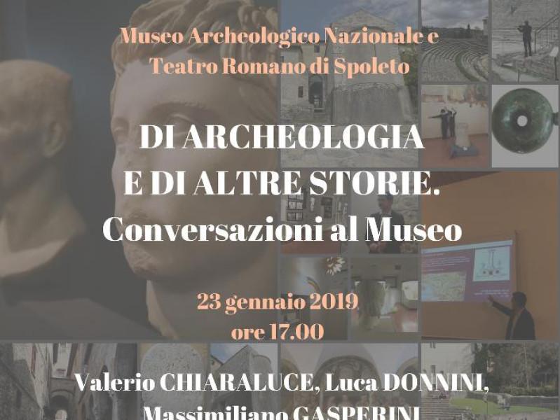 """Primo incontro """"Di archeologia e di altre storie"""""""