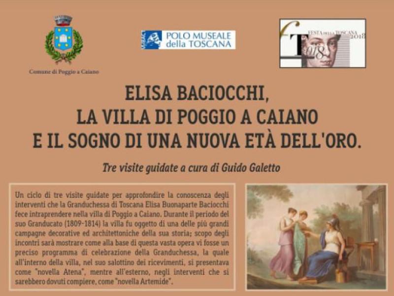 Elisa Baciocchi, la villa di Poggio a Caiano e il sogno di una nuova e