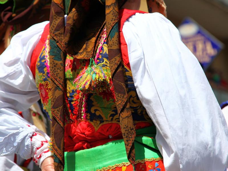 Costume tradizionele di Samugheo