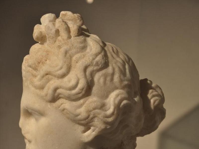 Testa marmorea di Afrodite, II secolo d.C. Castignani, Sante; jpg; 2848 pixels; 4288 pixels