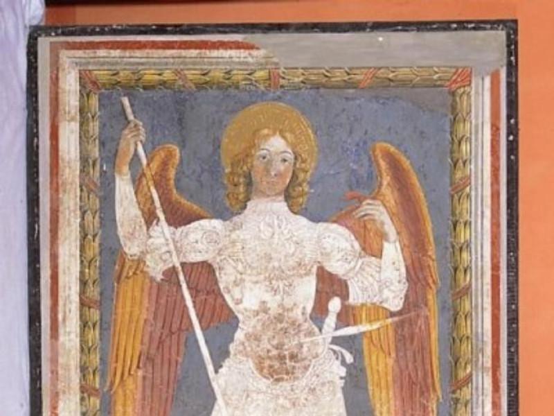 Fiorenzo di Lorenzo, San Michele Arcangelo tr Castignani, Sante; jpg; 400 pixels; 592 pixels