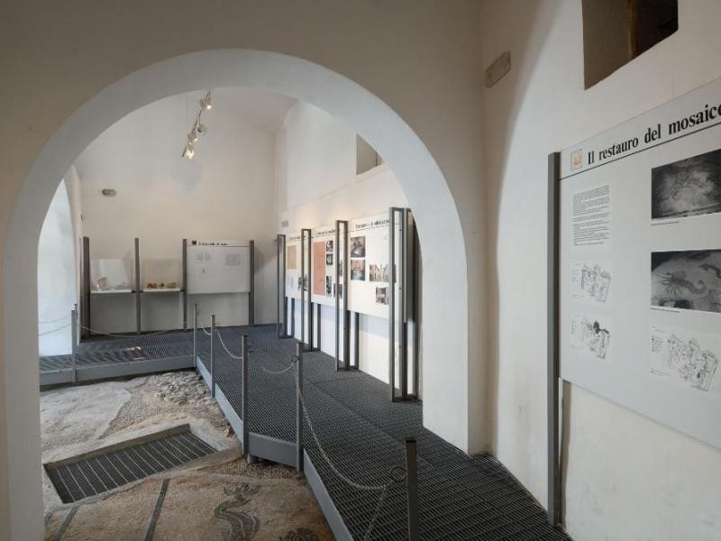 Mosaico delle terme romane. II sec. d.C. Fedeli, Marcello; jpg; 2126 pixels; 1417 pixels