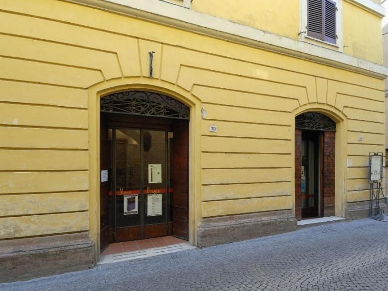 Museo Civico. Ingresso. Fedeli, Marcello; jpg; 2126 pixels; 1417 pixels