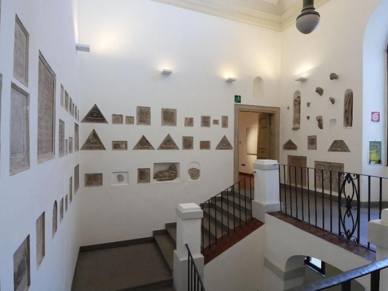 Sala espositiva. Collezione archeologica Fedeli, Marcello; jpg; 2126 pixels; 1417 pixels
