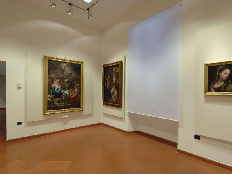Sala espositiva. Collezione settecentesca Fedeli, Marcello; jpg; 2126 pixels; 1417 pixels