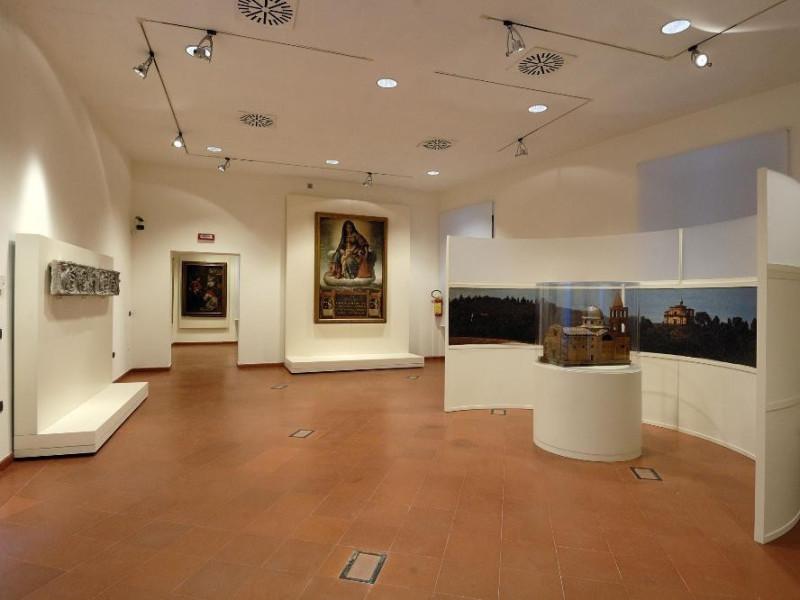 Sala espositiva. Collezione cinquecentesca Fedeli, Marcello; jpg; 2126 pixels; 1417 pixels