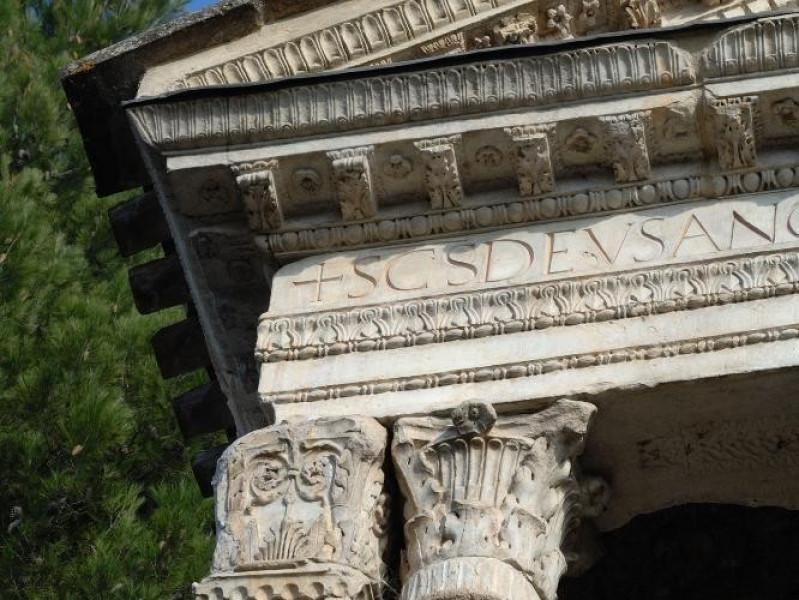 Chiesa di S. Salvatore. IV-V sec. d.C. Estern Fedeli, Marcello; jpg; 1417 pixels; 2126 pixels
