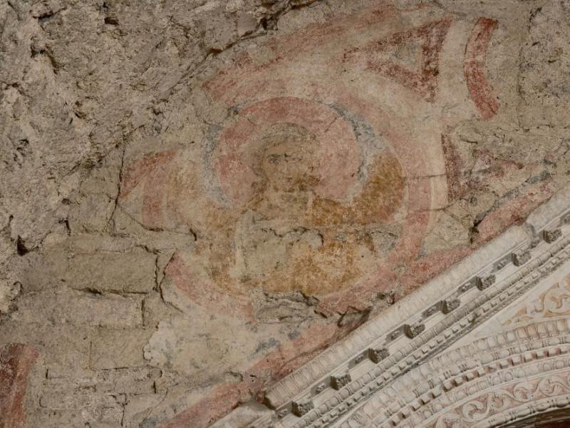 Campello sul Clitunno. Tempietto. Chiesa di S Fedeli, Marcello; jpg; 2126 pixels; 1417 pixels