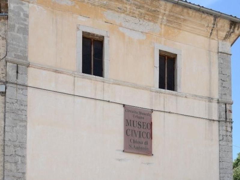 Chiesa di S. Antonio. Facciata Fedeli, Marcello; jpg; 1417 pixels; 2126 pixels