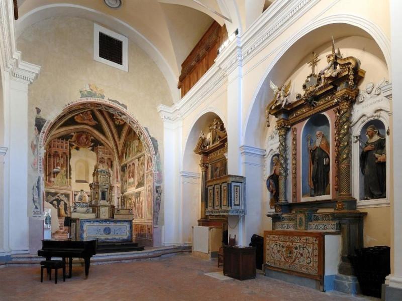 Chiesa di S. Antonio. Interno. Navata Fedeli, Marcello; jpg; 2126 pixels; 1417 pixels