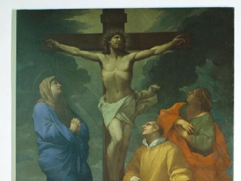 Lazzaro Baldi, Crocifissione con santo Stefan Giorgetti, Alessio/ Paparelli, Daniele; jpg; 400 pixels; 451 pixels