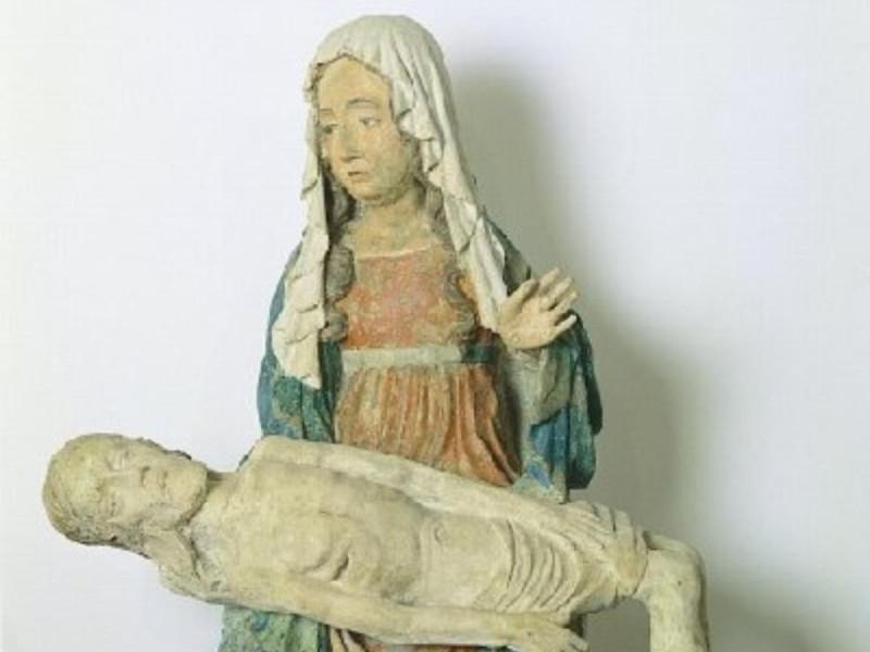 Scultore del XV secolo, Vesperbild, XV secolo Giorgetti, Alessio/ Paparelli, Daniele; jpg; 400 pixels; 405 pixels