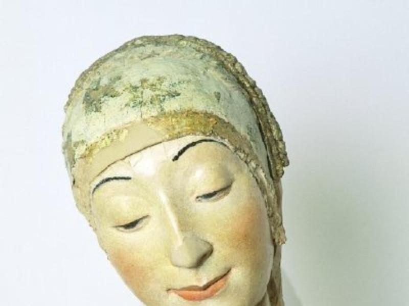 Scultore abruzzese, Testa della Vergine, prim Giorgetti, Alessio/ Paparelli, Daniele; jpg; 400 pixels; 436 pixels