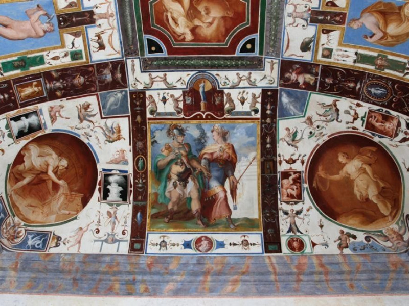 Sala dell'Eneide Bellu, Sandro; jpg; 929 pixels; 622 pixels