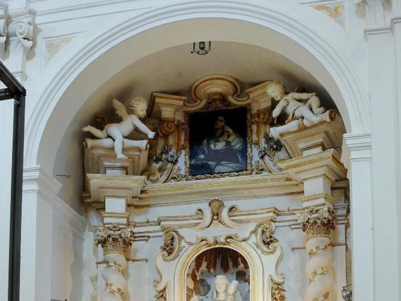 Altare della Madonna di Loreto. Bottega Itali Fedeli, Marcello; jpg; 1417 pixels; 2126 pixels