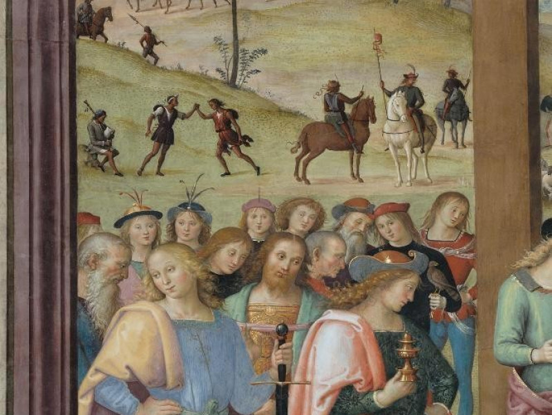 Pietro Vannucci detto il Perugino, Adorazione Fedeli, Marcello; jpg; 1417 pixels; 2126 pixels