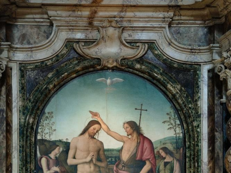 Pietro Vannucci detto il Perugino. Dipinto.   Fedeli, Marcello; jpg; 1417 pixels; 2126 pixels