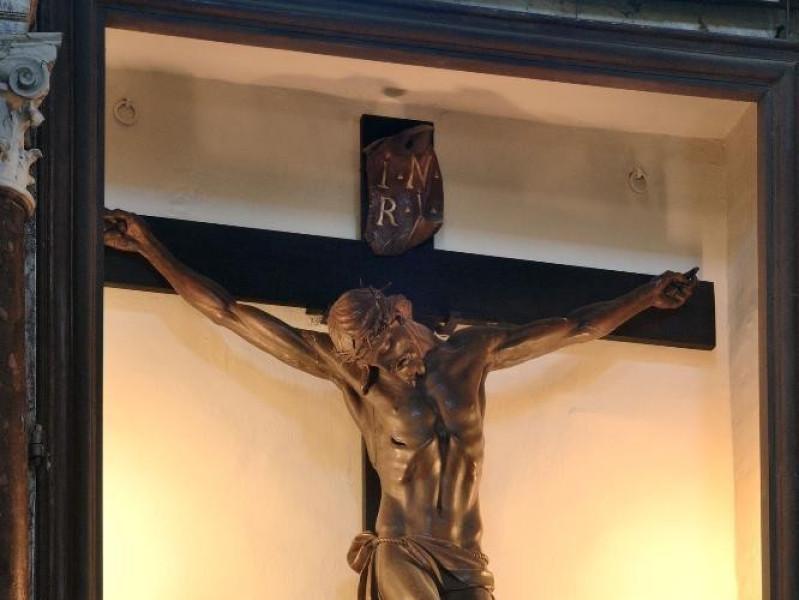 Ambito del Giambologna. Crocifisso. Sec. XVII Fedeli, Marcello; jpg; 1417 pixels; 2126 pixels