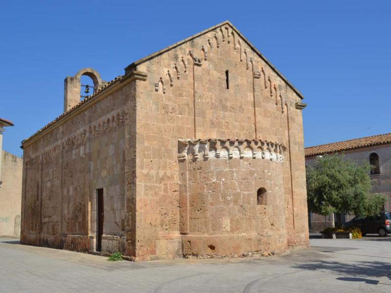 Villa San Pietro Chiesa romanica di San Pietro, abside