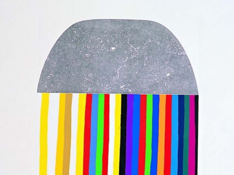Acquaforte e serigrafia G, 1975 Bovini, Mirko; jpg; 663 pixels; 768 pixels