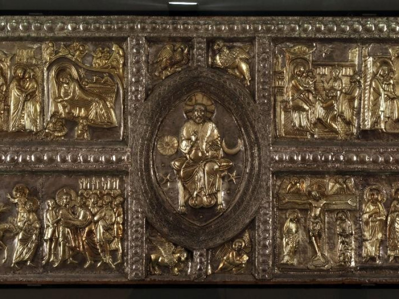 Paliotto, XII secolo Bellu, Sandro; jpg; 4252 pixels; 2244 pixels