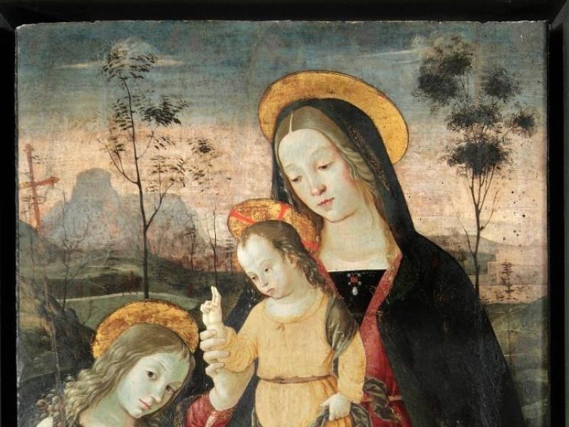 Bernardino di Betto detto il Pinturicchio, Ma Bellu, Sandro; jpg; 2169 pixels; 2905 pixels