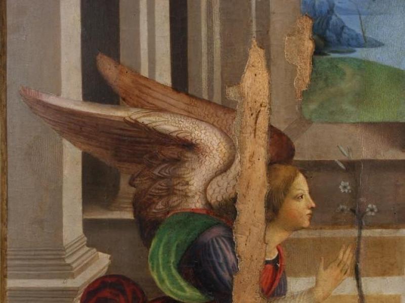 Francesco da Tiferno, Annunciazione, XVI seco Bellu, Sandro; jpg; 2592 pixels; 3872 pixels