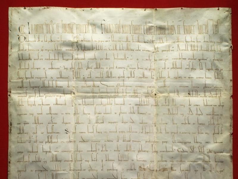 Pergamena dell'imperatore Federico Barbarossa Bellu, Sandro; jpg; 2828 pixels; 3553 pixels