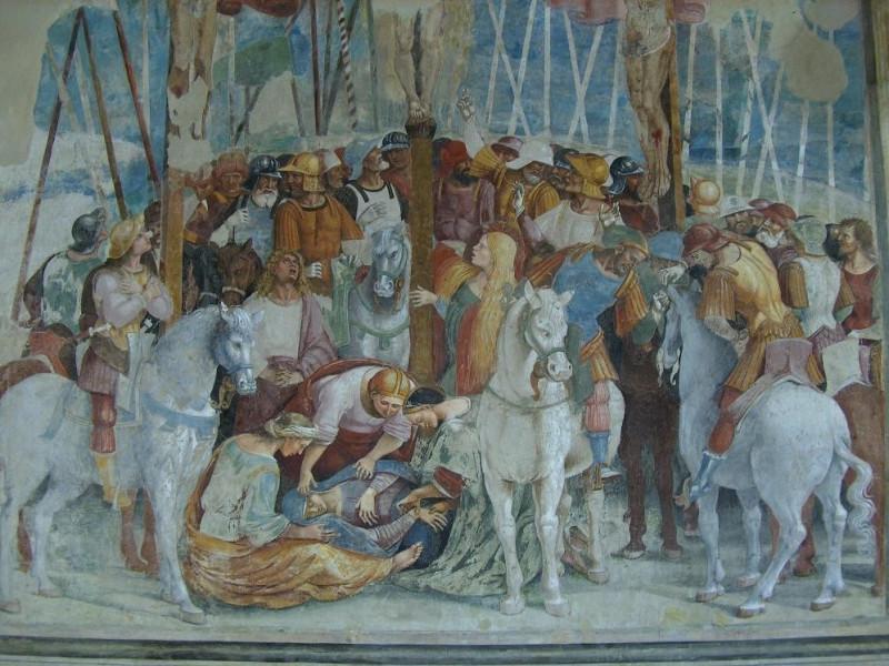 Luca Signorelli, Crocifissione, primo decenni Bovini, Mirko; jpg; 2608 pixels; 1952 pixels