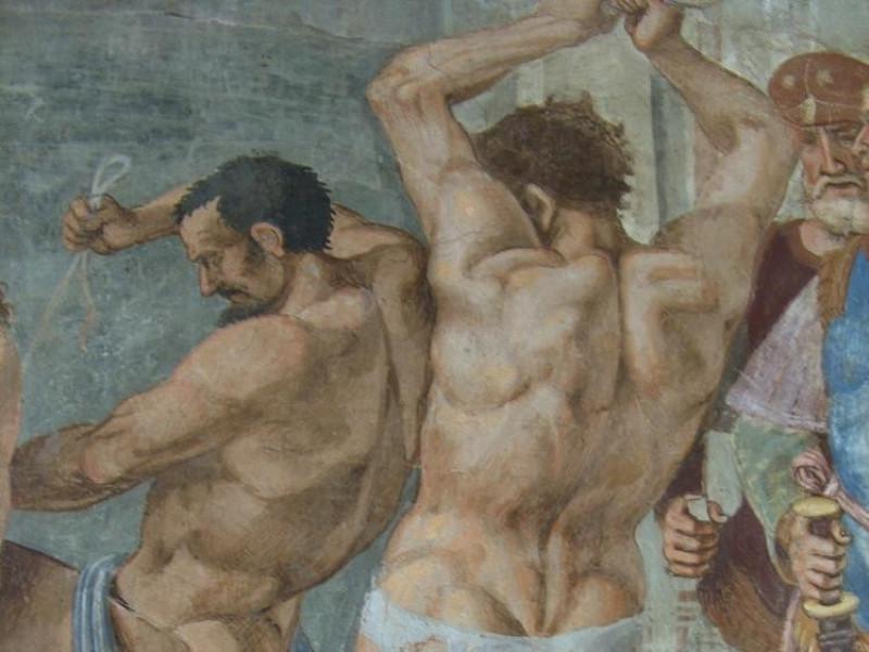 Luca Signorelli, Flagellazione, primo decenni Bovini, Mirko; jpg; 1952 pixels; 2608 pixels