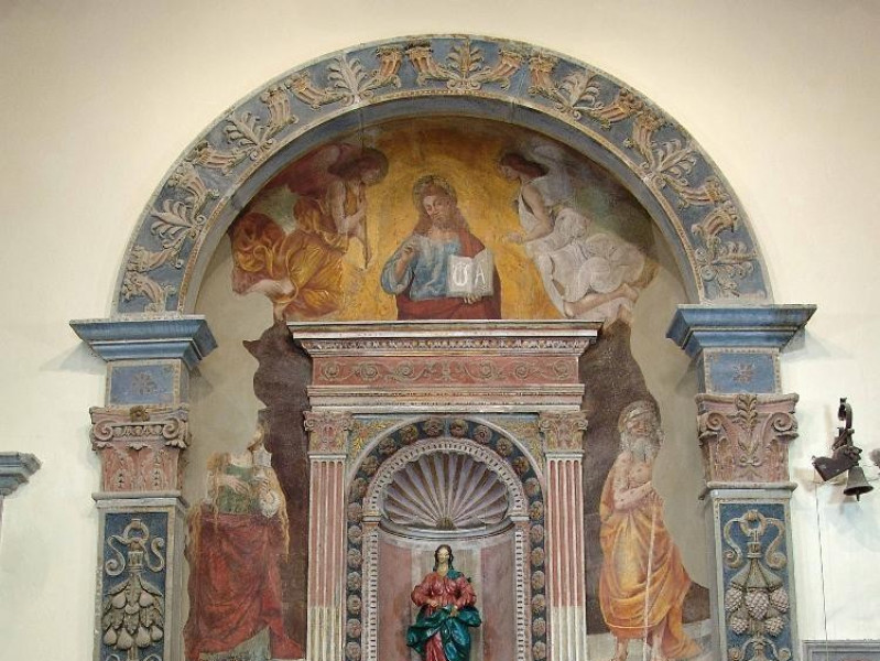 Bottega di Luca Signorelli (?), Cristo benedi Bovini, Mirko; jpg; 2448 pixels; 3264 pixels
