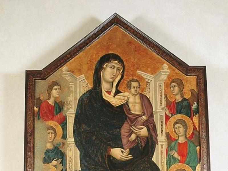 Maestro di Città di Castello, Madonna con il Bellu, Sandro/ Castignani, Sante/ Royal Collection Enterprise Ltd. Windsor (England); jpg; 525 pixels; 768 pixels
