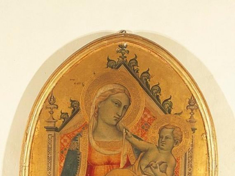 Spinello Aretino Madonna con il Bambino, 1390 Bellu, Sandro/ Castignani, Sante/ Royal Collection Enterprise Ltd. Windsor (England); jpg; 438 pixels; 768 pixels