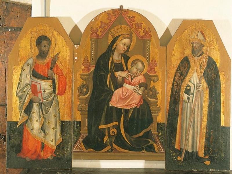 Antonio Alberti, Madonna con il Bambino e san Bellu, Sandro/ Castignani, Sante/ Royal Collection Enterprise Ltd. Windsor (England); jpg; 768 pixels; 602 pixels