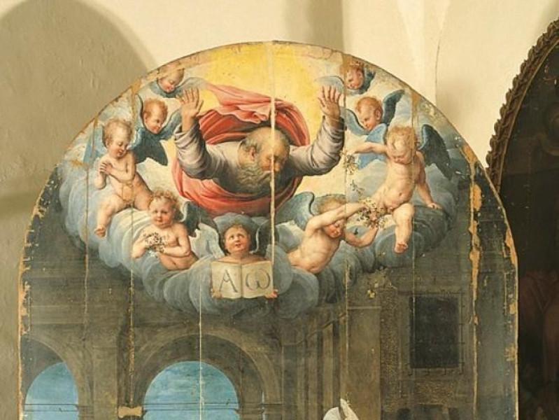 Raffaellino del Colle, Annunciazione, 1520-30 Bellu, Sandro/ Castignani, Sante/ Royal Collection Enterprise Ltd. Windsor (England); jpg; 509 pixels; 768 pixels