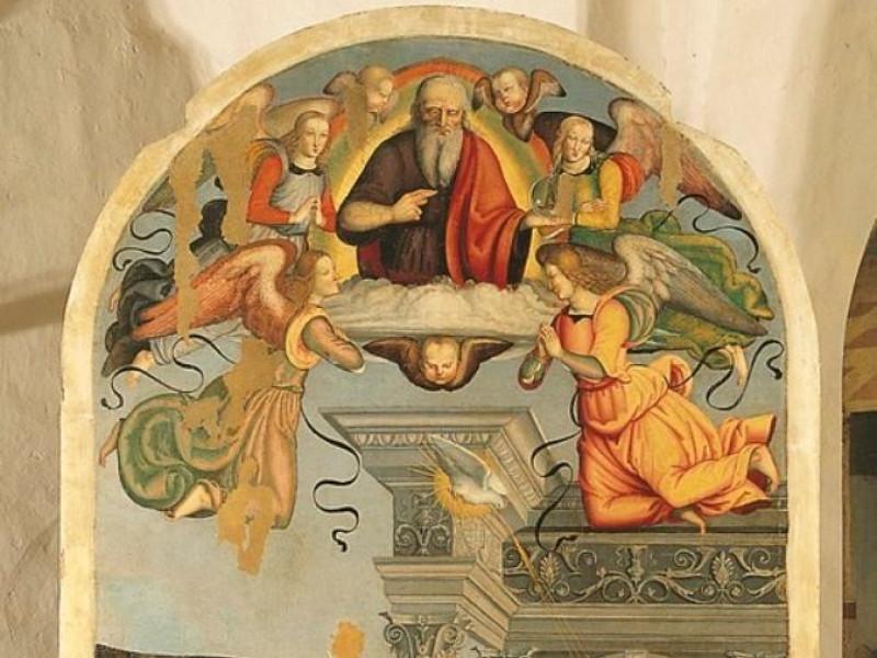 Francesco Tifernate, Annunciazione, 1505-06 Bellu, Sandro/ Castignani, Sante/ Royal Collection Enterprise Ltd. Windsor (England); jpg; 519 pixels; 768 pixels