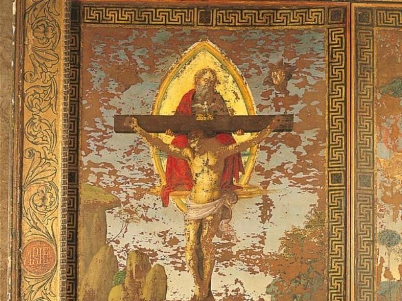 Raffaello, Gonfalone della Santissima Trinità Bellu, Sandro/ Castignani, Sante/ Royal Collection Enterprise Ltd. Windsor (England); jpg; 602 pixels; 768 pixels